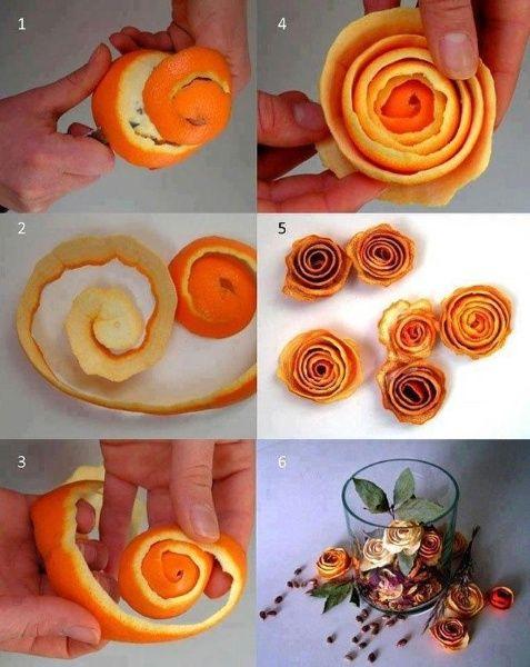 pomorandzina kora