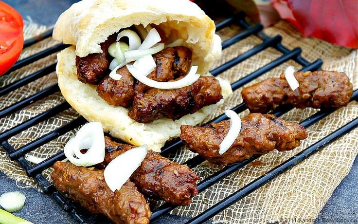 Sausages in a Flat Bread- Ćevapi