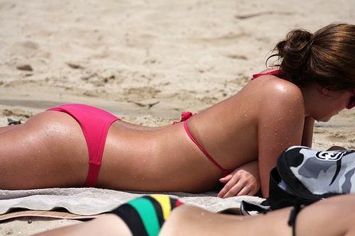 crvenilo bikini zona