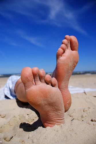vježbe za stopala