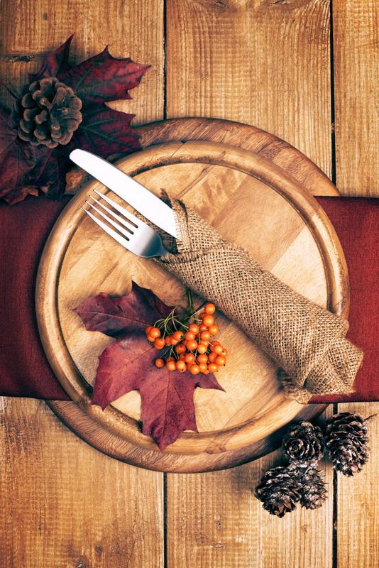 dekoracija stola jesen