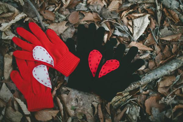 rukavice sa srcem