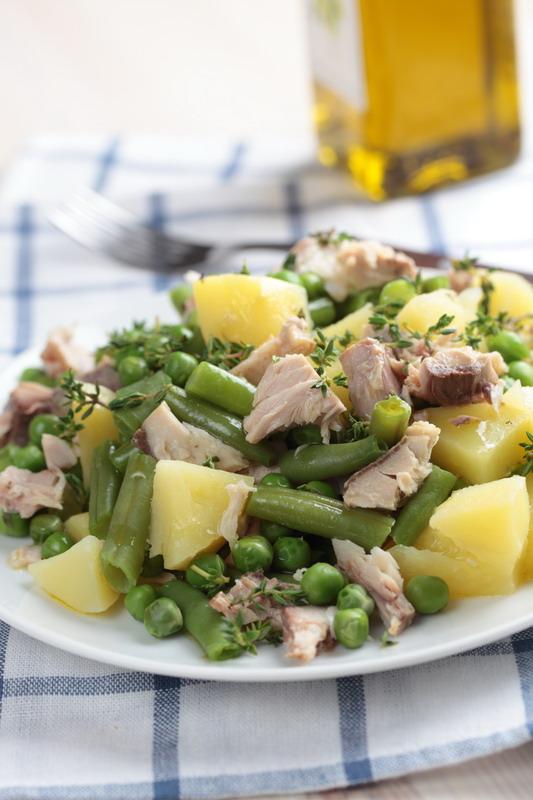 salate sa tunjevinom