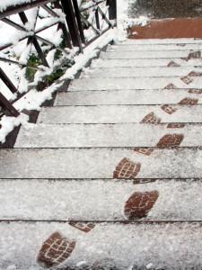 zeledjene stepenice