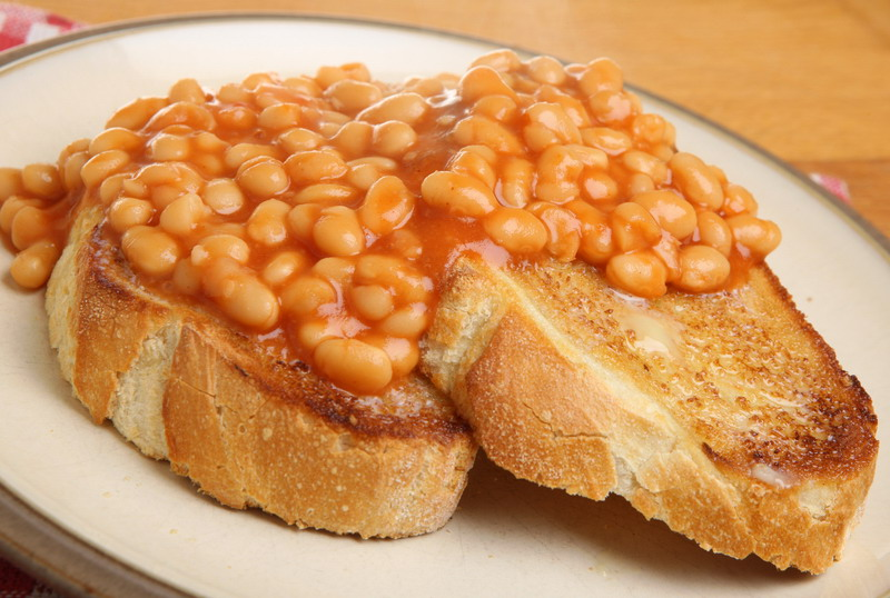 pasulj i tost