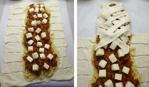 sa špagetama