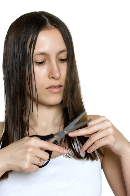 sisanje mokra kosa