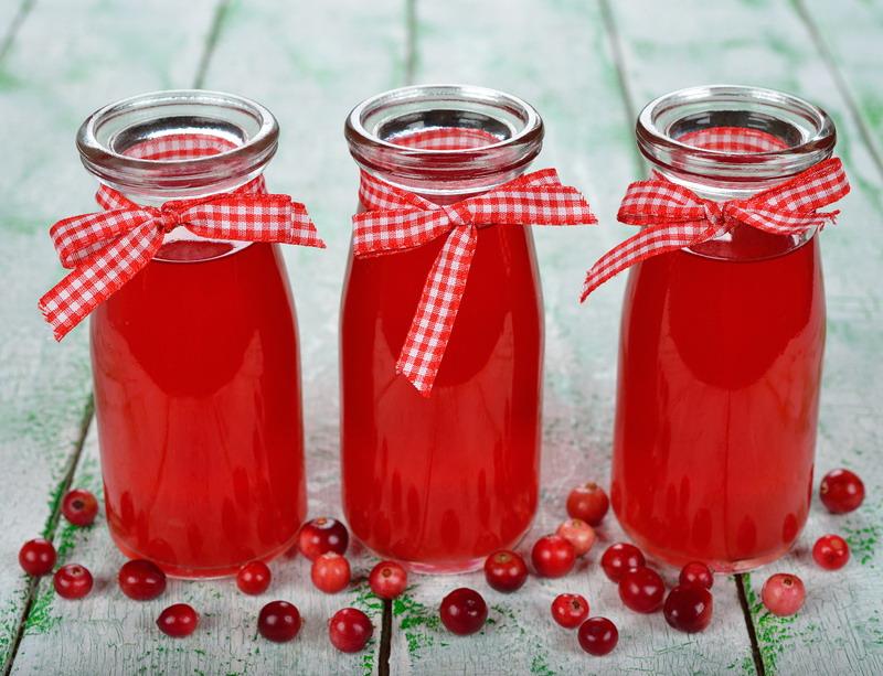 sok od brusnice bocice