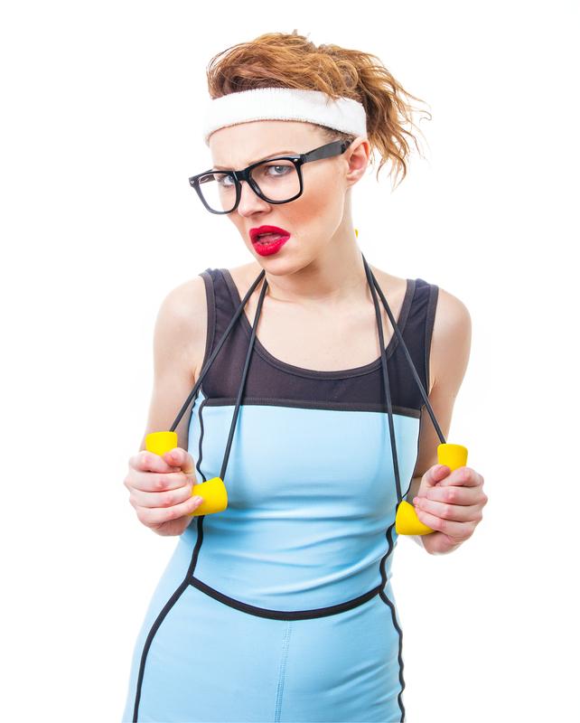 žena vežbanje