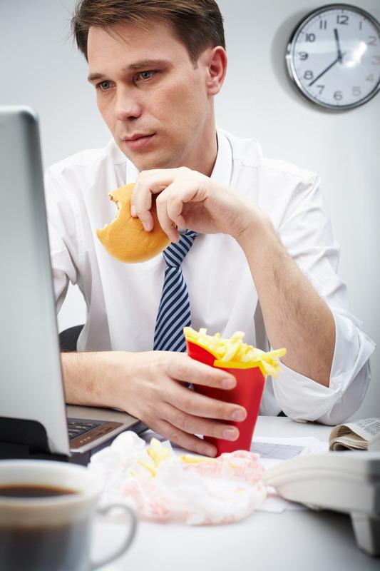 brza hrana na poslu