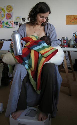 mama i beba posle porodjaja