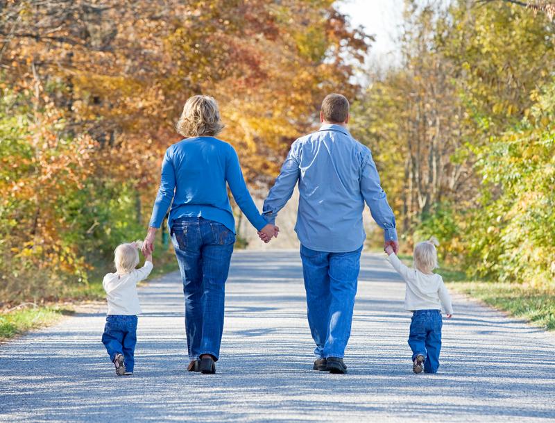 porodicna šetnja