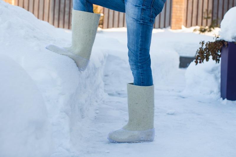 stajanje na snegu