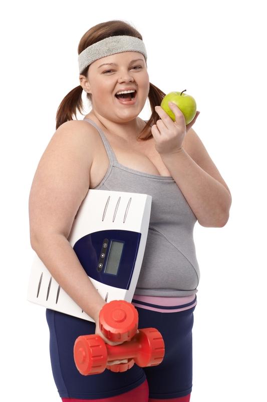 žena vaga vježbanje