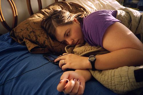 budjenje krevet telefon