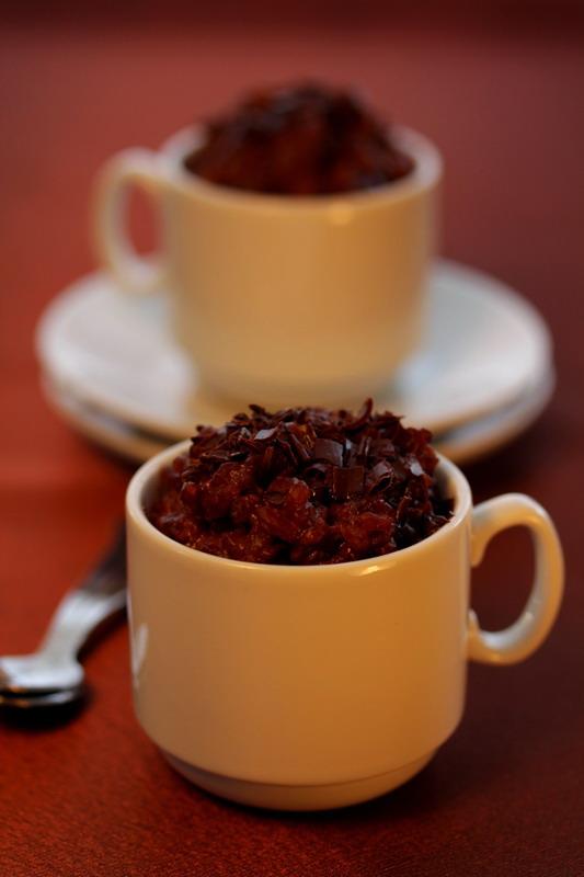 cokoladni puding od rize