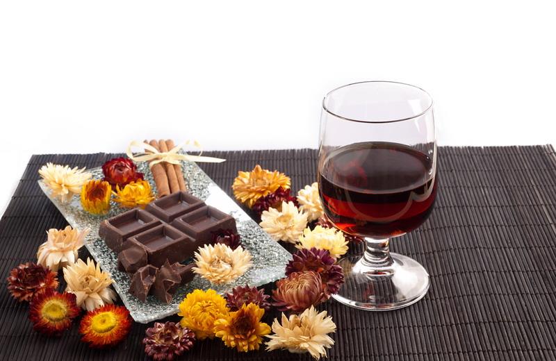 rum cokolada cvece