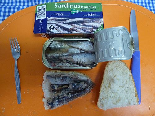 sardine u konzervi