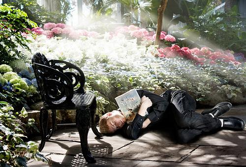 spavanje rajski vrt