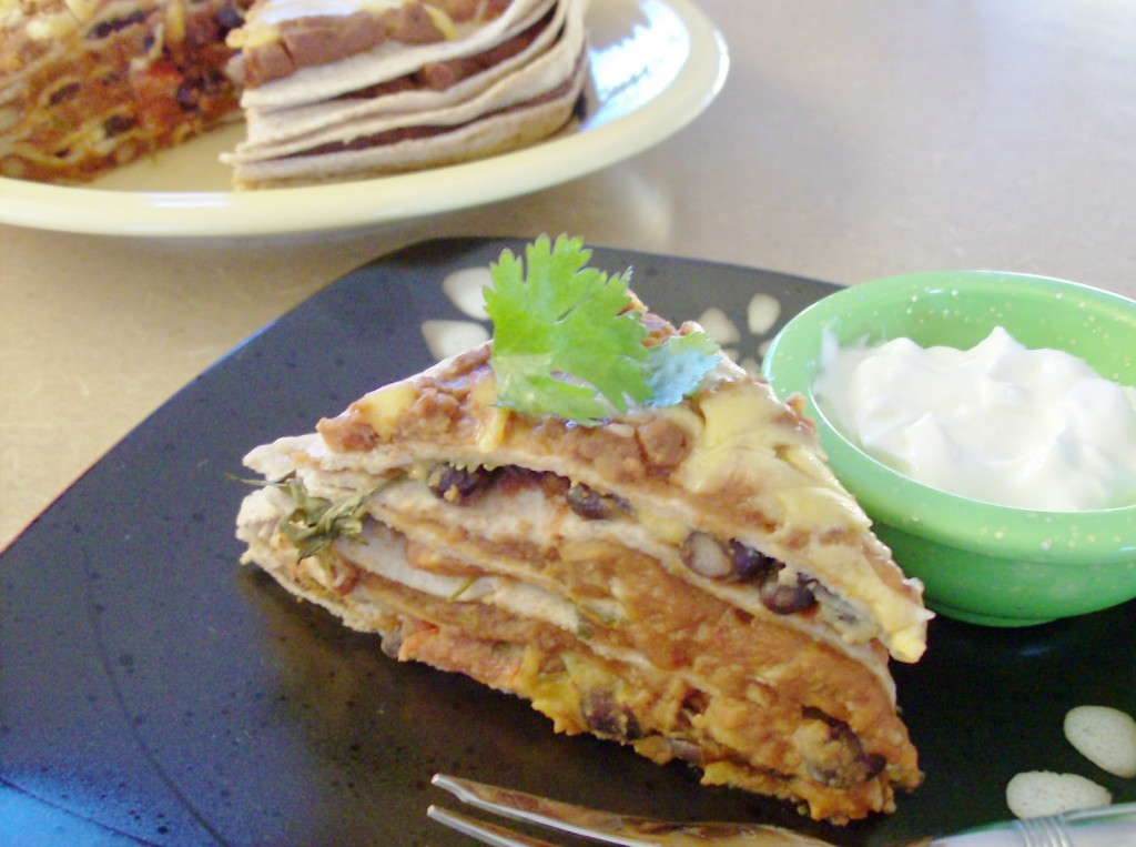 tortilja torta sa pasuljem 1