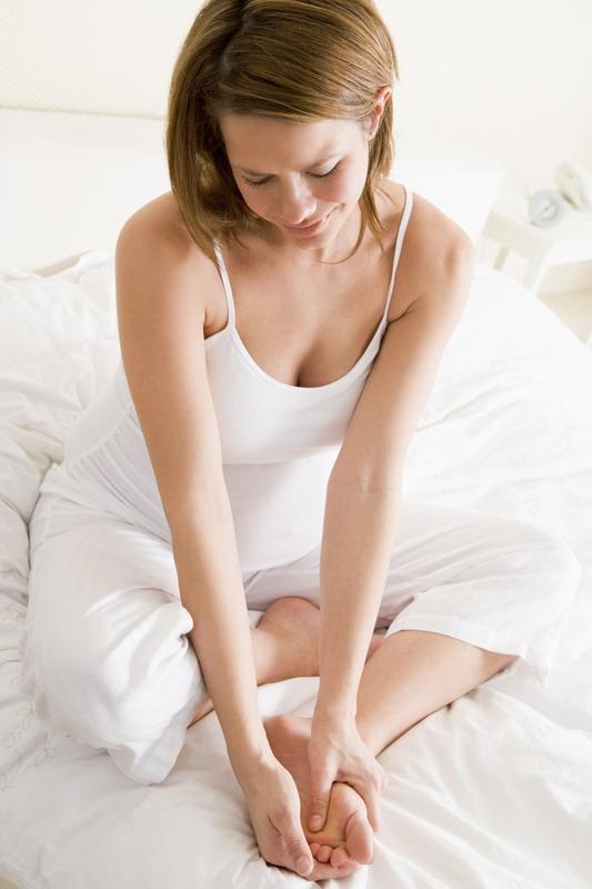 trudnica grc u nozi