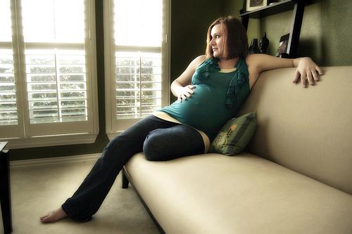 trudnica na kucu