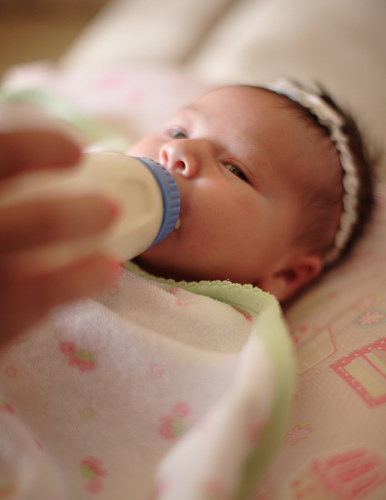 beba flasica mala