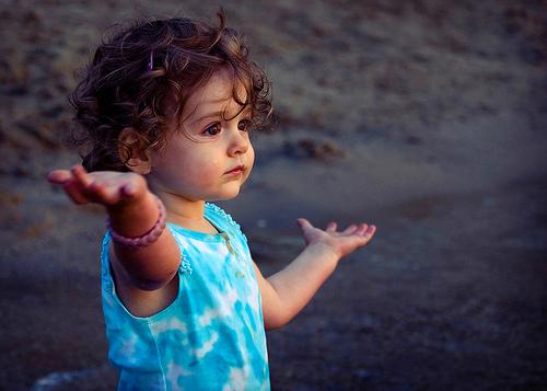 dete objasnjava ruke