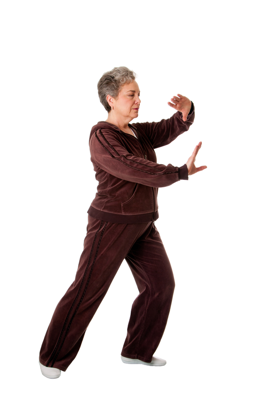http://www.dreamstime.com/stock-images-senior-woman-doing-tai-chi-yoga-exercise-image18715074
