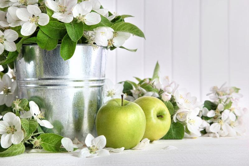 jabuke i vocno cvece