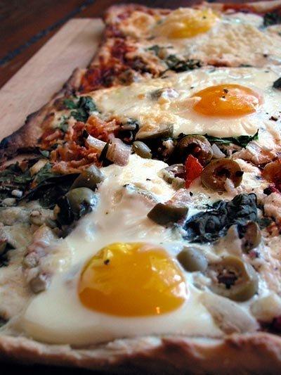 pizza za doručak