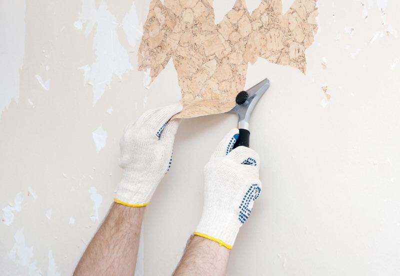 uklanjanje tapeta sa zida