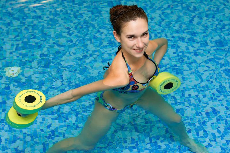 http://www.dreamstime.com/stock-photos-girl-aqua-fitness-aerobic-image11298353