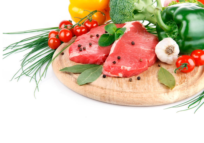 http://www.dreamstime.com/royalty-free-stock-photo-raw-meat-fresh-vegetables-image17871655
