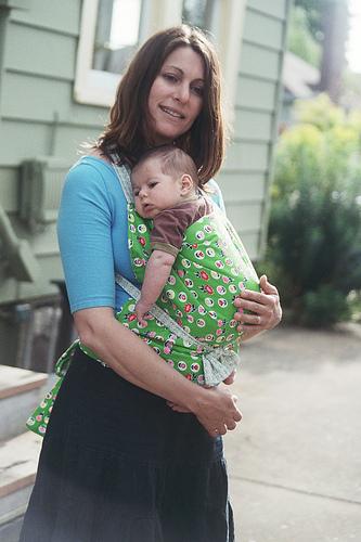 sling marama beba mama na ulici