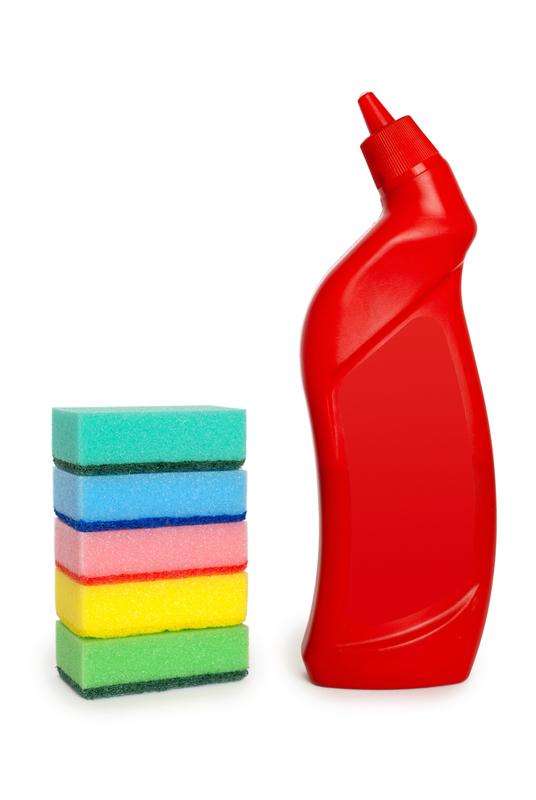http://www.dreamstime.com/royalty-free-stock-photo-bottle-cleaning-sponge-image16381155