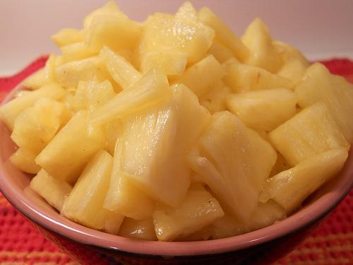 ananas komadici