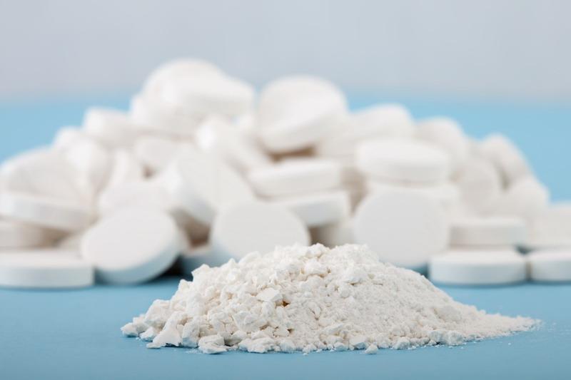 aspirin izmrvljen