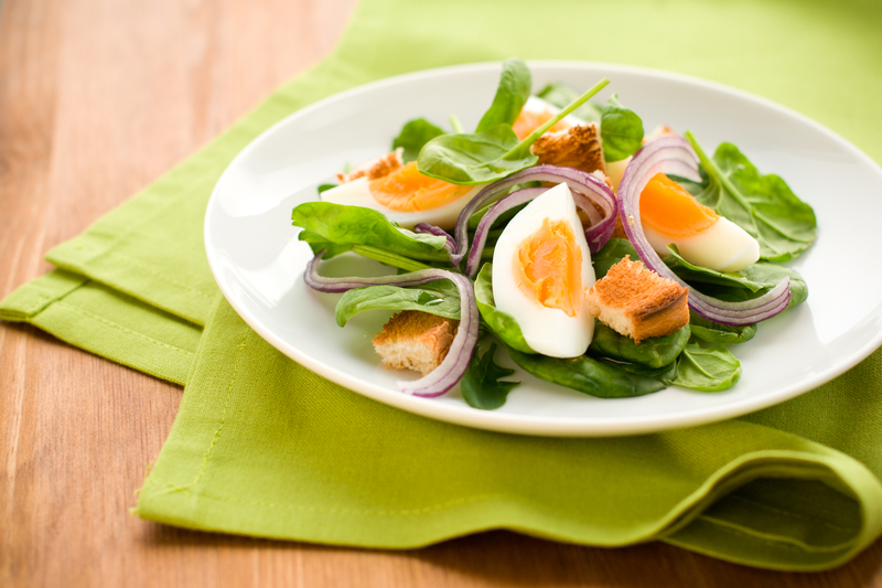 http://www.dreamstime.com/stock-image-salad-spinach-egg-image13199871