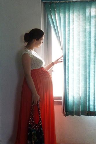 trudnica leto haljina