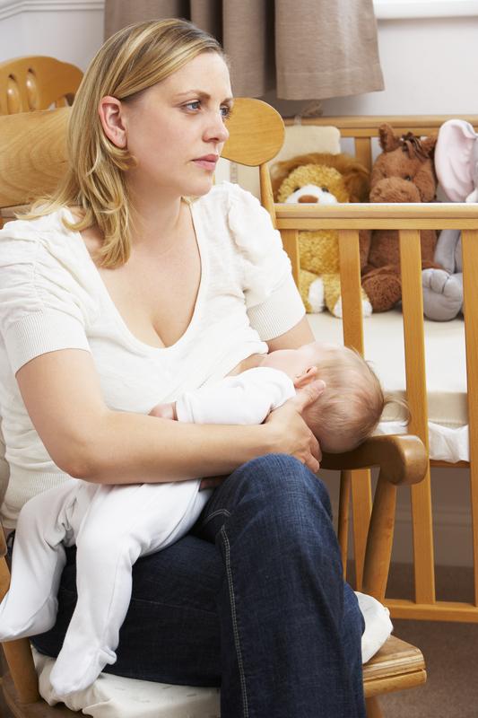 http://www.dreamstime.com/stock-image-worried-mother-breastfeeding-baby-nursery-image10401331