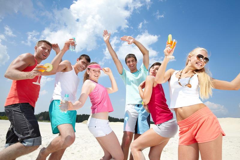 zabava na plazi