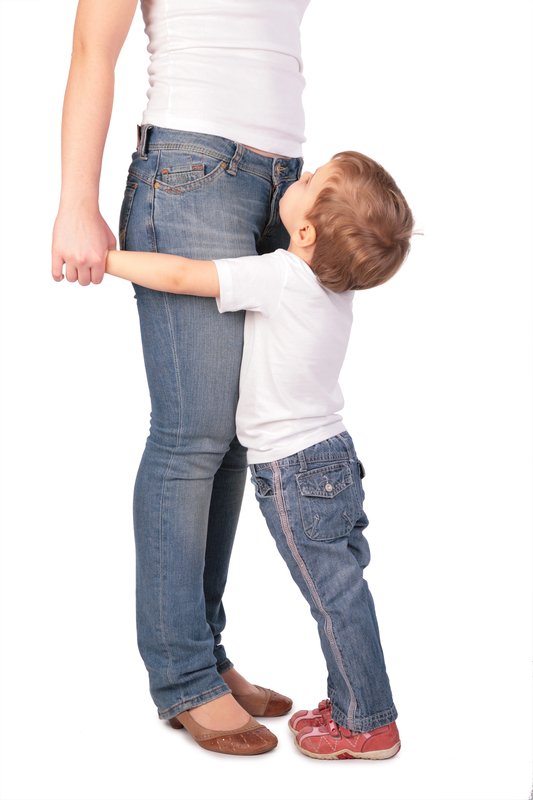 http://www.dreamstime.com/royalty-free-stock-photos-girl-embrace-mother-legs-image4479328