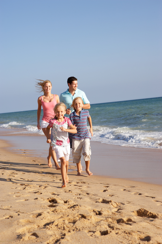 http://www.dreamstime.com/stock-image-portrait-running-family-beach-image16297651