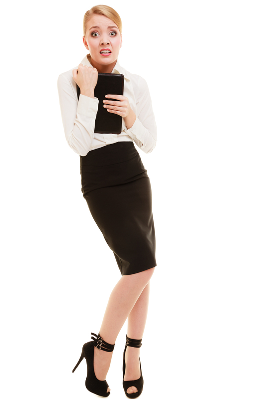 http://www.dreamstime.com/stock-image-afraid-businesswoman-shy-woman-stress-work-full-length-emotional-isolated-white-first-day-new-job-image42453871