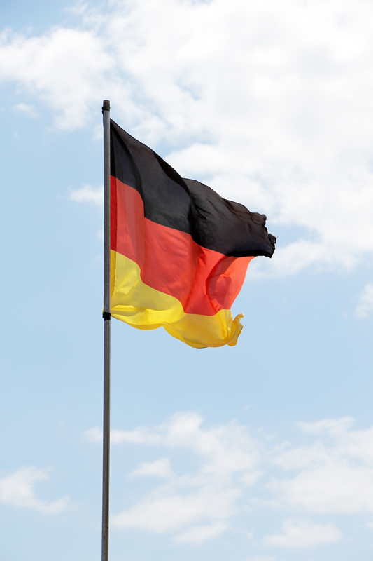 http://www.dreamstime.com/stock-image-flag-germany-close-up-view-against-bright-sky-portrait-cut-image43864931