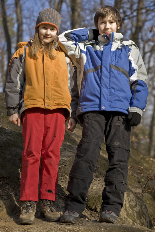 http://www.dreamstime.com/stock-photos-two-kids-forest-park-image7598683