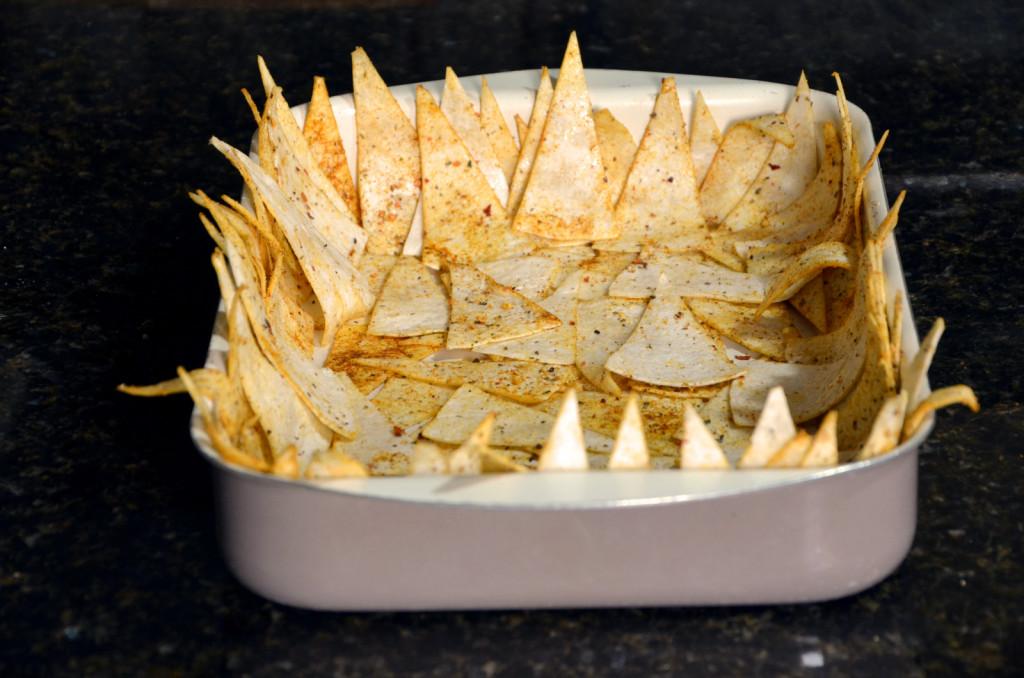 Domaći čips od tortilje sa ukusnim umacima 2