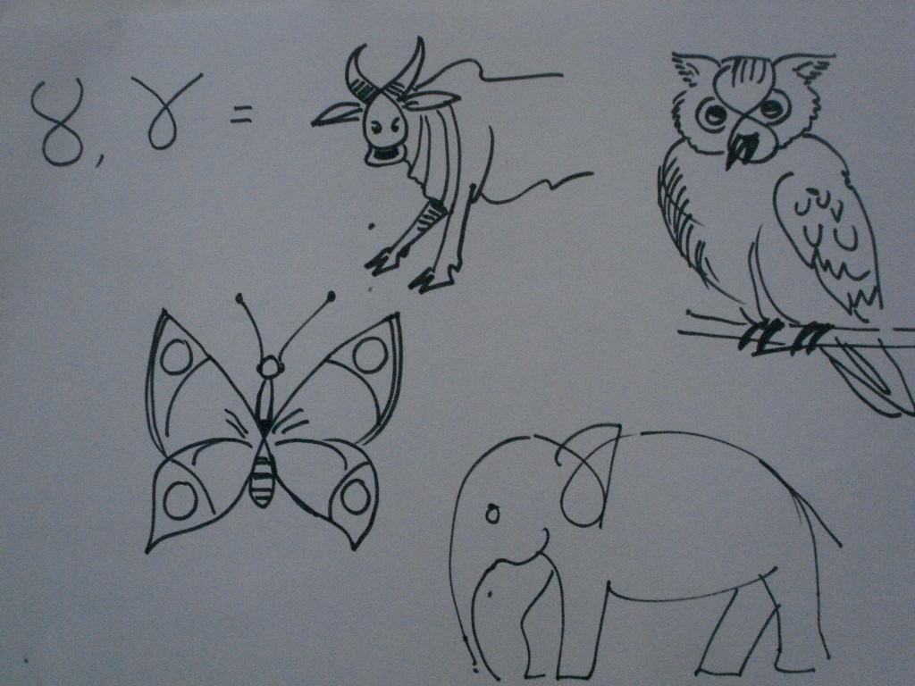 Kako nacrtati životinje i ljude od brojeva | LifePress magazin