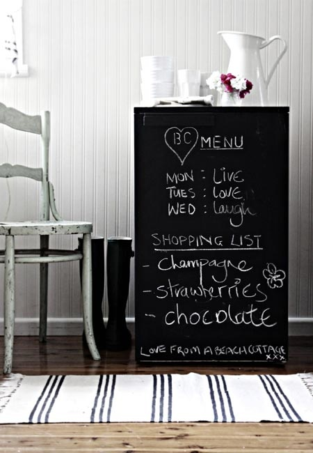 Chalkboard Fridge6